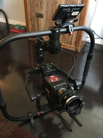 DJI Ronin 1 with Cinemilled Extensions, Ring and Extras!