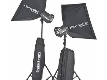 Rent: Elinchrom BX-Ri 250/250 To Go Set - 2 Monolight Kit