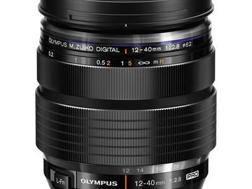 Rent: Olympus M. Zuiko Digital ED 12-40mm f/2.8 PRO lens