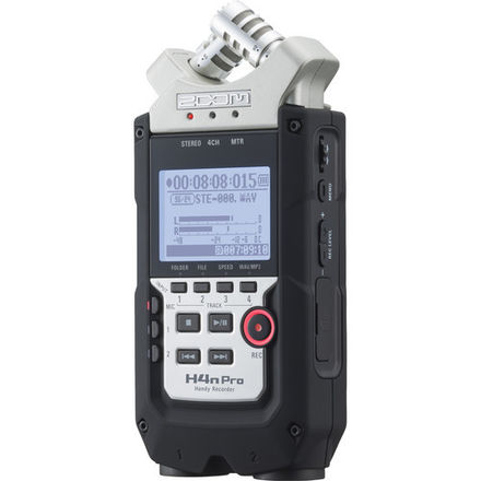Zoom H4n Pro 4-Channel Handy Recorder KIT