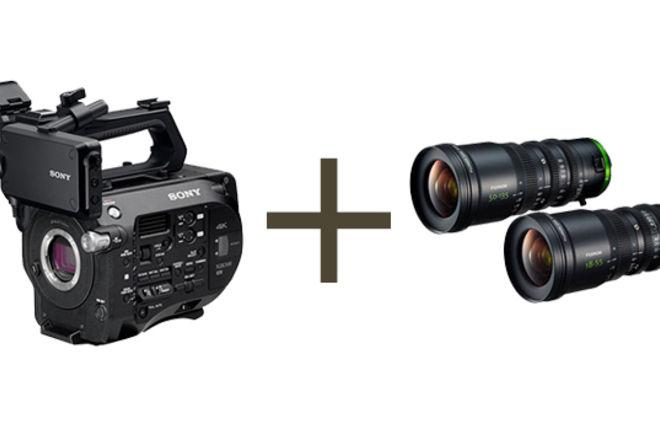 Sony FS7M2 + Fujinon MK Zooms (18-55 & 50-135)