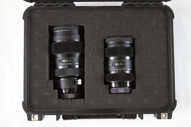 Sigma Art Zoom Kit (18-35mm & 50-100mm f/1.8) w/ gears