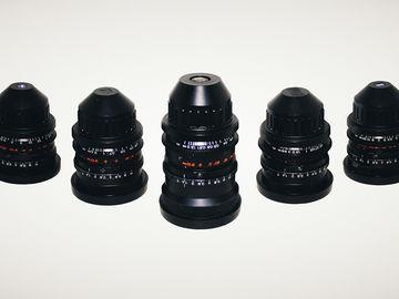 Zeiss Super Speed MK I Lens Set - T1.4