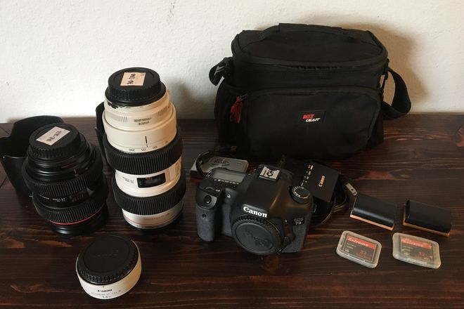 Canon 7D Zoom Lens Package (24-70 & 70-200 2.8)