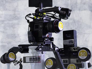 Rent: RED Weapon 6k Camera Package with Lenses