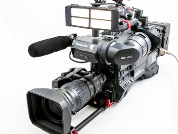 Rent: Ready2shoot ENG/EFP HPX300 HD p2 cam. ACCESSORIZED. 1of2