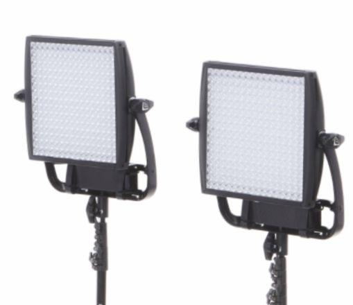 Litepanels Astra 1x1 LED EP 2x panels light kit w/ softbox