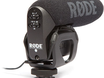 Rode VideoMic Pro Compact On-Camera Shotgun Microphone
