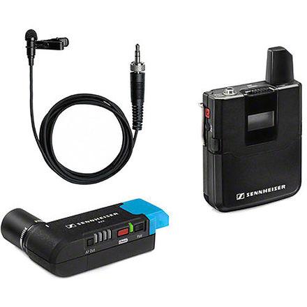 2 Wireless Lav Mic Kits - Sennheiser AVX + Sennheiser G3