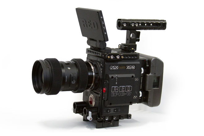 RED Epic-W Helium 8K S35 BASE KIT w/ Sigma Zooms