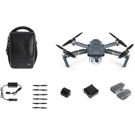 DJI Mavic Pro fly more combo with filters