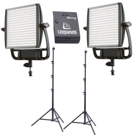 2 light kit Litepanel Astra BiColor