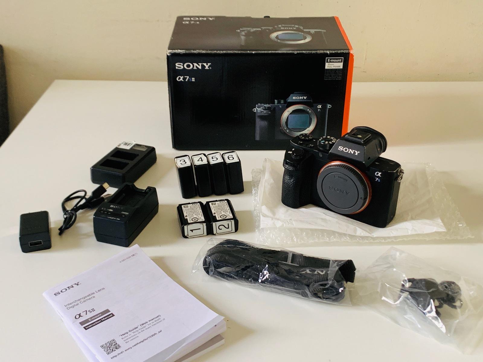 For Sale: Sony Alpha a7S II Mirrorless Digital Camera