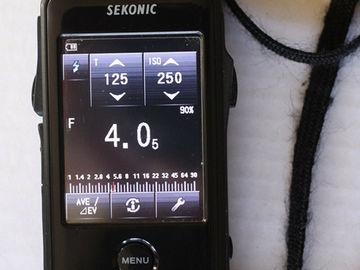 Rent: Sekonic LiteMaster Pro L-478D + Leather Case