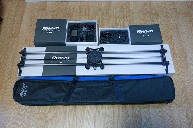 "Rhino EVO Pro Slider 42"" with Motion + Arc"