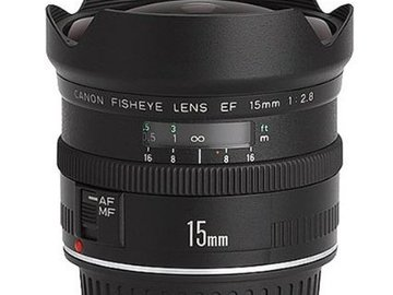 Rent: Canon 15mm Fisheye Lens