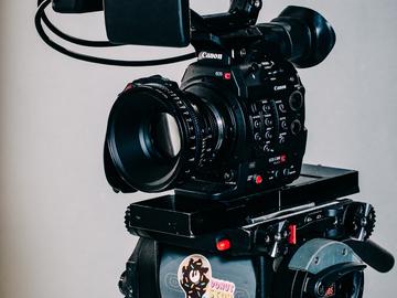 Rent: Canon C300 Mk II (Full Kit)