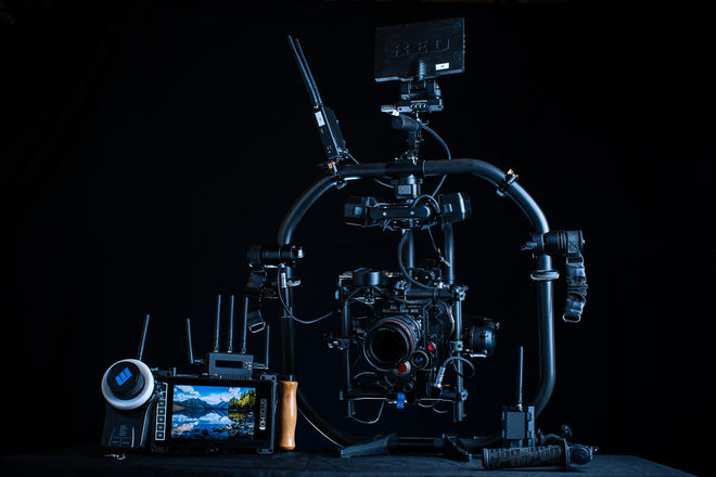 RED Monstro 8K | MoVI Pro Gimbal + Cinema Package (5/5 CHI)