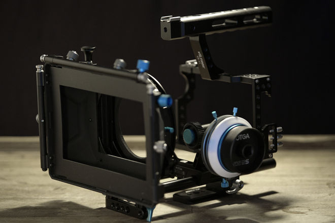 Sony A7S II Cage, Matte Box & Follow Focus