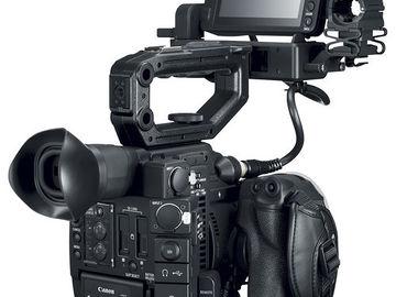 Canon EOS C200 (w/ AC Power, Battries, (2x) 128GB C.Fast.