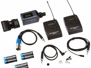 Sennheiser EW G3 Wireless Lav Beltpack and Receiver (1 of 2)