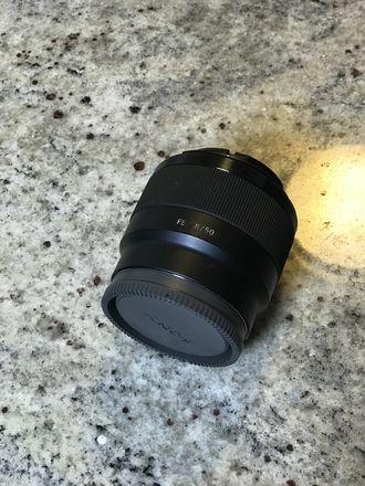 Sony FE 50mm f/1.8 Prime Lens