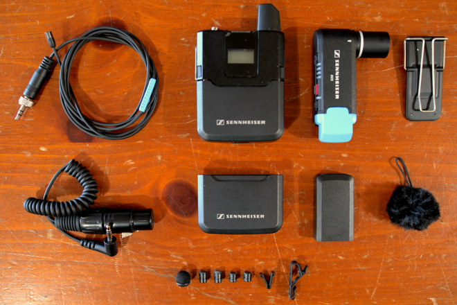 Sennheiser AVX Lav (MKE2 Version) w/ 2 Battery Sets