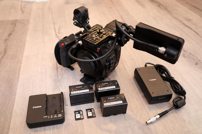 Canon EOS C200 — Basic Body Kit w/ Extra Batteries!
