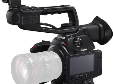 Rent: Canon EOS C100 Mark II Cinema EOS Camera with Dual Pixel CMO