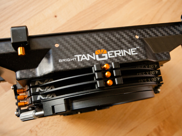 BRIGHT TANGERINE MISFIT CLIP-ON MATTE BOX