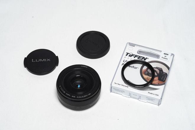 Panasonic Lumix G 20mm f/1.7 II ASPH Lens (Black)