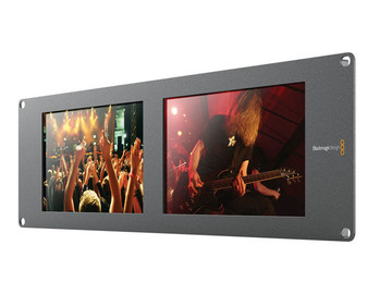 "Rent: Blackmagic Design SmartView Duo Rackmountable Dual 8"" LCD Mo"