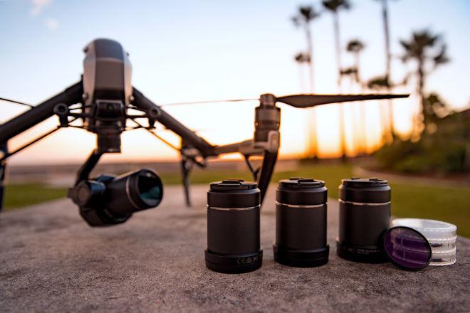 DJI Inspire 2 - X7 W/ Lenses - 6K CINEMA KIT