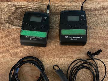 Sennheiser ew 100 ENG G3 Wireless Kit with extended range