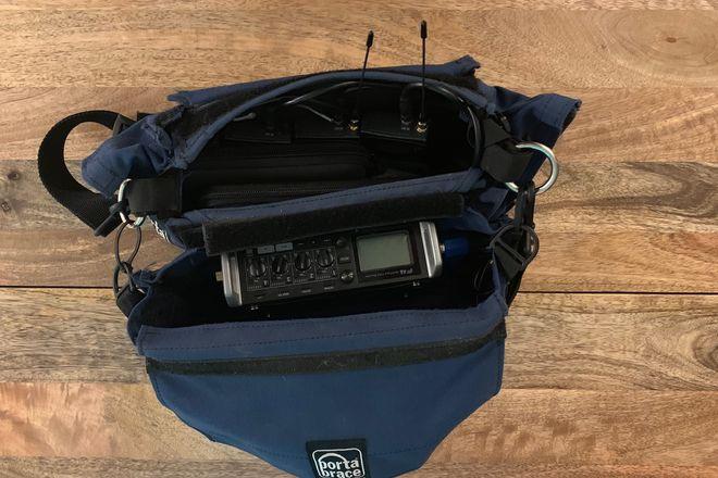 Zoom F4 indie film audio kit