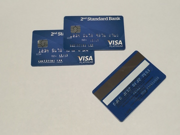 Rent: Fake EVM Visa Chip Credit Card