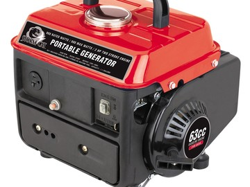 Rent: 900W Peak/700W Running Generator