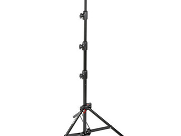 Rent: Manfrotto Alu Mini Compact Air-Cushioned Stand (Black, 7')
