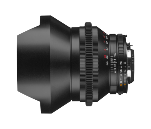 Zeiss Zf.2 Duclos Cine Mod Lenses 15mm 2.8