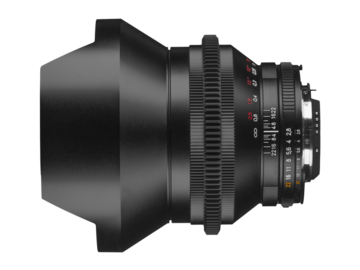 Rent: Zeiss Zf.2 Duclos Cine Mod Lenses 15mm 2.8