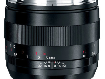 Rent: Zeiss Zf.2 Duclos Cine Mod Lenses 50mm 2.0 Makro Planar