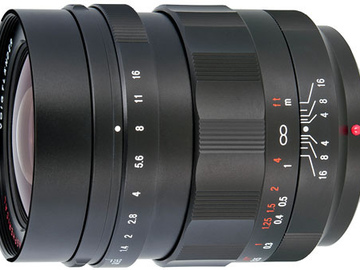 Rent: Voigtlander Nokton 17.5mm f0.95 MFT Mount Lens
