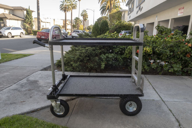"Magliner Jr. 24 x 36"" Converted Camera Cart"