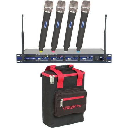 VocoPro  4-Channel Wireless Handheld Microphone