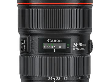 Rent: Canon 24-70 II