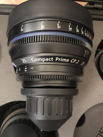 Zeiss Compact Prime CP.2 25mm T2.9 (PL)