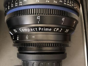Zeiss Compact Prime CP.2 35mm T2.1 (PL)
