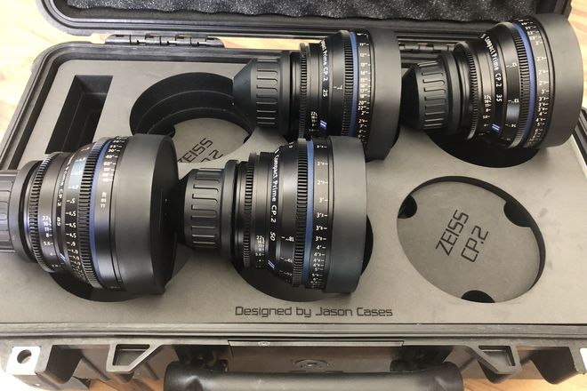 Zeiss  Compact Prime CP.2 Lens Set of 4 25/ 35/ 50/ 85 (PL)