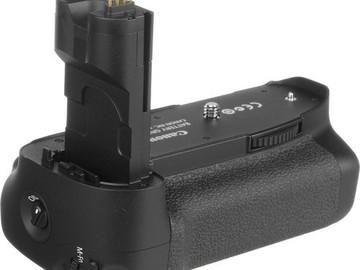 Rent: Canon BG-E7 Battery Grip for EOS 7D