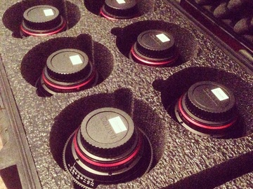 Rent: Canon cn-e cinema primes 6 lens set
